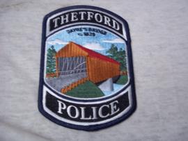 Badge, embleem Thetford Police.