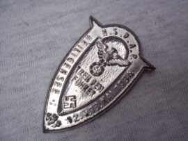German tinnie, rally badge Duitse tinnie  NSDAP Heiligensee 12- 13 mai 1934 Treu dem Führer, zeldzame uitvoering.