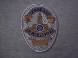 Badge, embleem Los Angeles Police- Sergeant