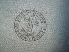 Scouting member book. Lid boekje Vlaams Verbond der katholieke Scouts.