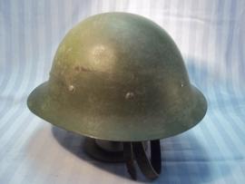 Dutch helmet M-1916 nicely marked CM- 1927. Nederlandse helm Model 1916, met CM stempel en datum 1927 perfecte staat CM- Centraal Magazijn.