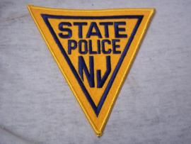Badge, embleem State Police N.J.
