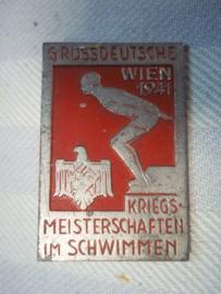 German tinnie Kriegsmeisterschaften im schwimmen Wien 1941 Sport tinnie