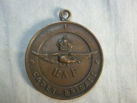 British RAF Cadets medal WW1 on name. Engelse RAF medaille op naam, 1918