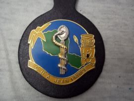 Franse borsthanger geneeskundige troepen, medical corps.