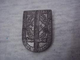 German tinnie rally badge, Duitse tinnie Wettkampftage der SA gruppe  Westmark Trier 1939.