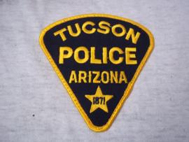 Badge, embleem Tucson Police Arizona 1871