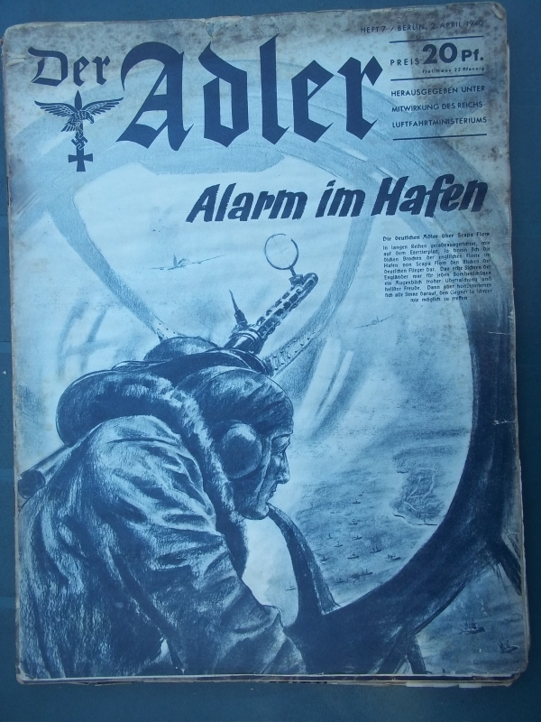 Der ADLER 2 April 1940