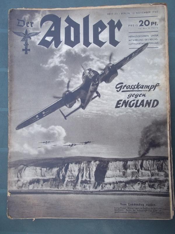 Der ADLER 12 november 1940