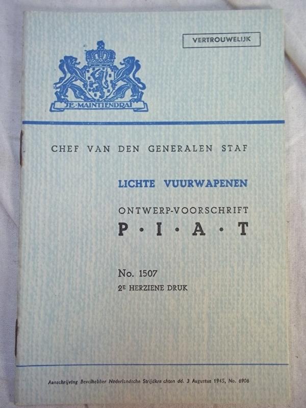 Nederlands instructieboekje M.v.O. PIAT