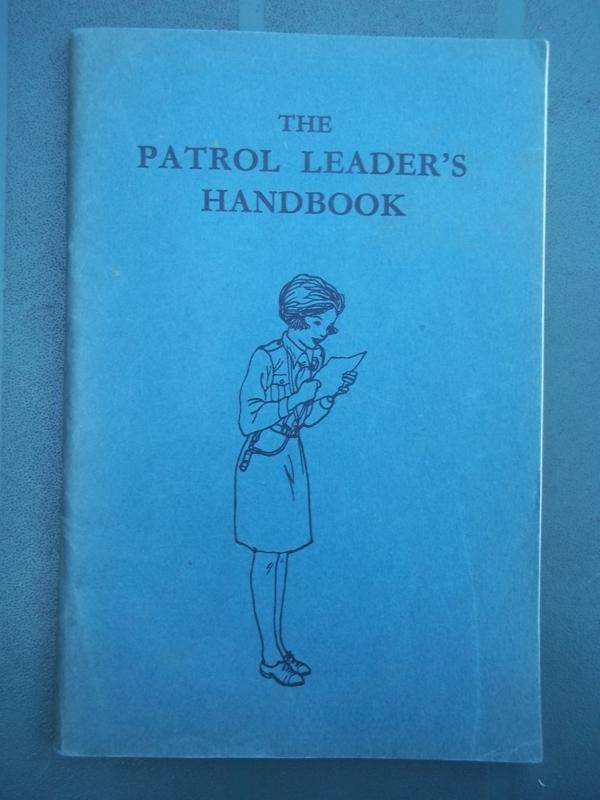 Engels boek padvinderij, scouting  Patrol leaders handbook