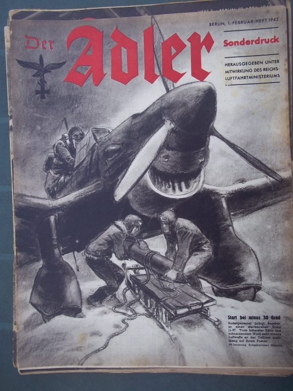 Der ADLER 1 februari 1942 SONDERDRUCK