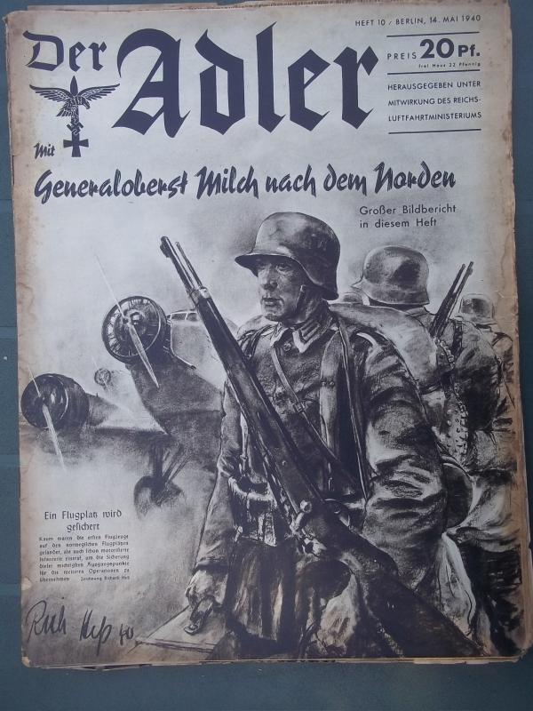 Der ADLER 14 mei 1940