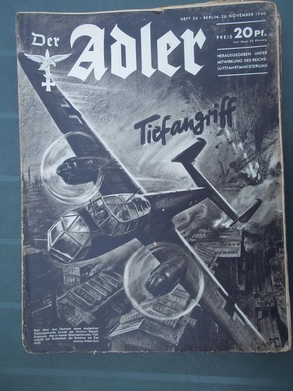 Der ADLER  26 november 1940 Tiefangriff