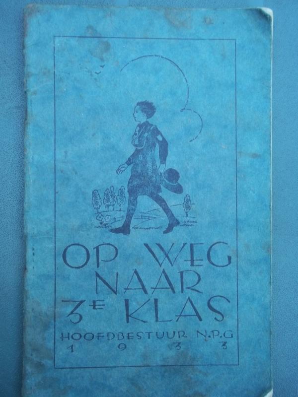 Padvindersboek, Op weg naar de derde klas 1933, scoutingbook