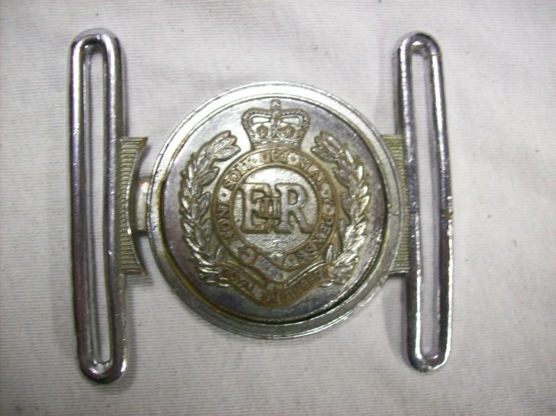English buckle Royal engineers
