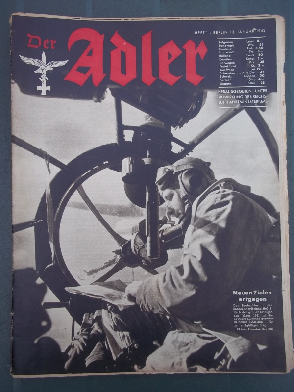 Der ADLER Januari 1942