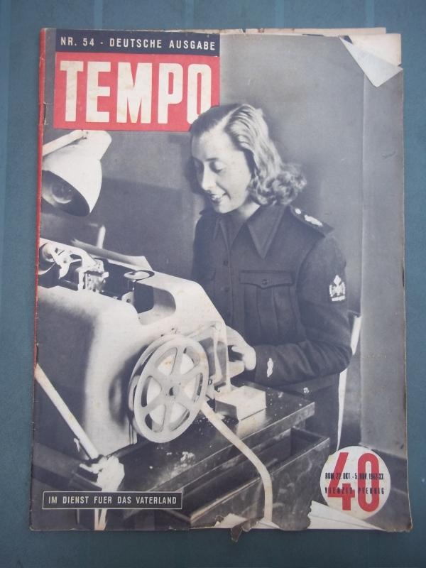 TEMPO, Deutsche Ausgabe oktober- november 1942