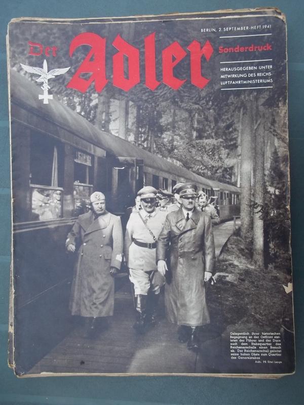 Der ADLER 2 september 1941, SONDERDRUCK