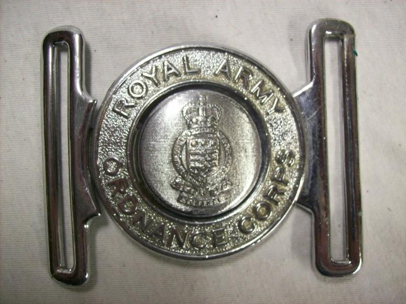 English army buckle ceremonial Royal Army Ordnance Corps