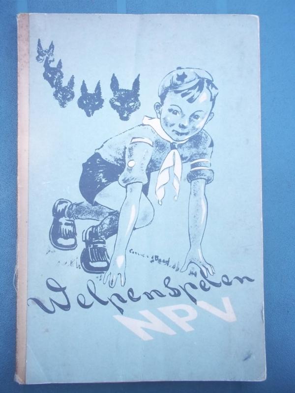 Scouting boek Welpen spelen