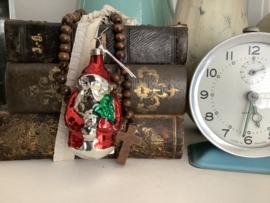 Kerstmannetje rood 8 cm