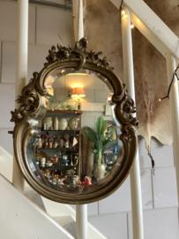 Prachtige antieke Franse spiegel