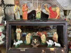 Antieke kerstgroep