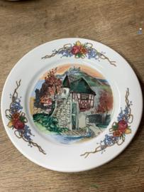 Bordje porselein Frankrijk 1