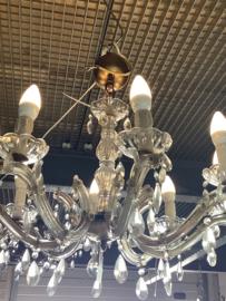 Kristallen kroonluchter, 8 lichtpunten