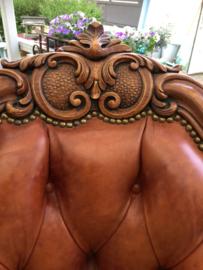 """Leren barok fauteuil """"Chesterfield"""""""