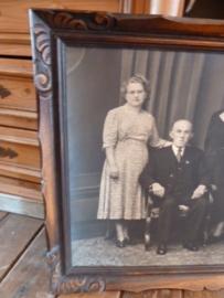 Familieportret in prachtige lijst.