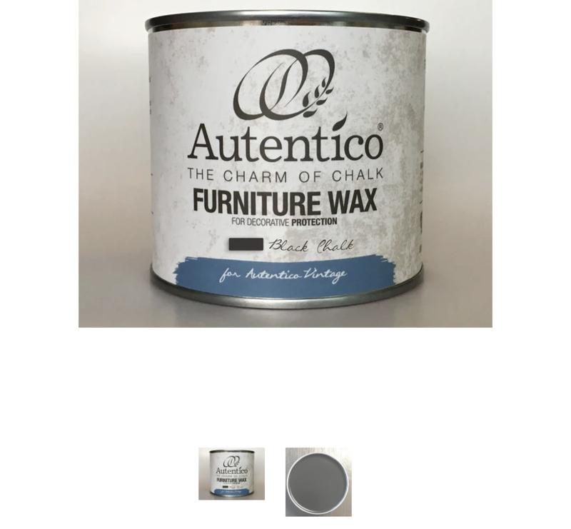 Autentico zwarte wax.