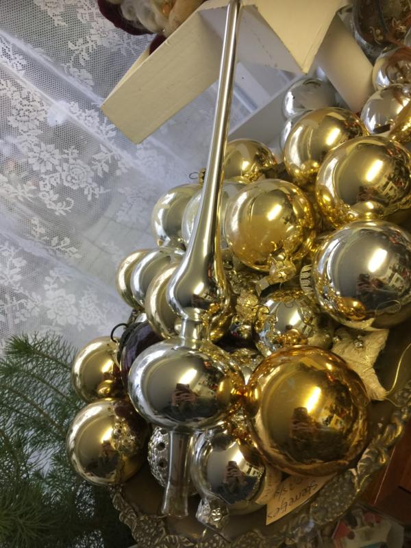 Lange piek zilver