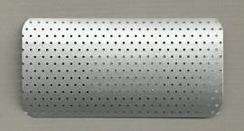 W.423 grijs geperforeerd