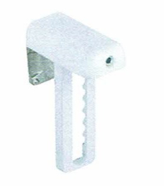 klemsteun rolgordijn voor kunstof/aluminium draai/kiepraam
