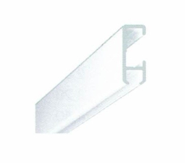 schilderij rail wit of alu 100cm tot 600cm