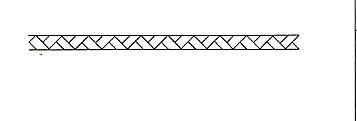 10 meter jalozieen-koord 25mm wit