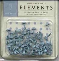 Minibrads lichtblauw - American Crafts * AC8481
