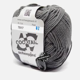 Cocktail donkergrijs - 7817 * Scheepjes 7817