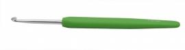 Knitpro softgrip waves haaknaald 3,5 groen