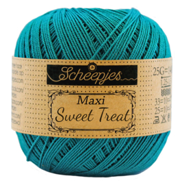 401 Dark teal - Maxi Sweet Treat 25 gram - Scheepjes