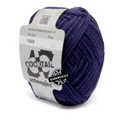 Cocktail donkerblauw  * Scheepjes 7688