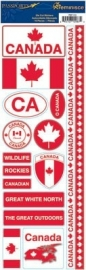Canada passports stickers - Reminisce * psp-114