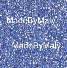 Miyuki Delica's 11/0 blue ceylon DB0243