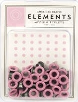 Ronde grote eyelets