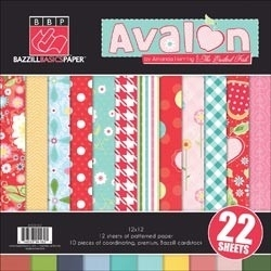 Avalon Multipack - Bazzill * 304162