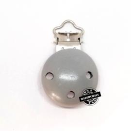 Speenclip grijs  30 mm