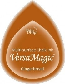 Dew Drop gingerbread - Versamagic * GD-062