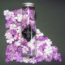 Primaflowers set 43 * Purple - 20 bloemen